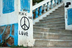 Sidi Ifni-calle-peace-love