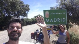 ¡Entramos en Madrid!