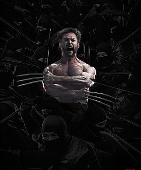 """The Wolverine"" film posters"