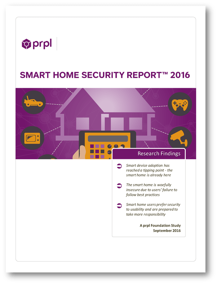 Cover, Smart Home Report 2016