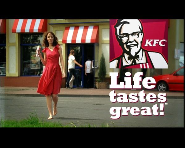 3 Anna Bednarska, KFC, TOASTED TWISTER