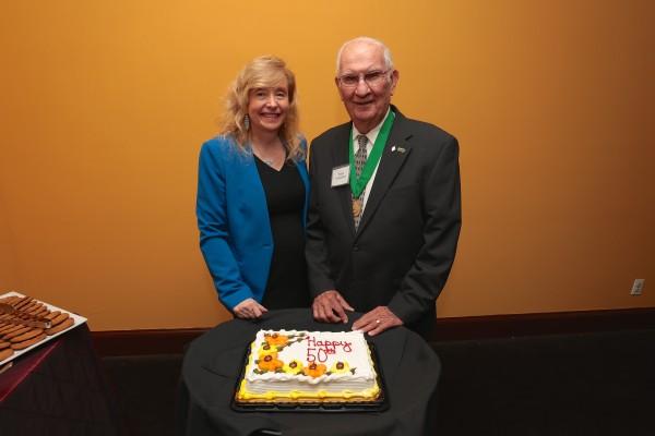 Fred Leuschner and Liz Smith, APR, 2015 Leuschner Award Winner