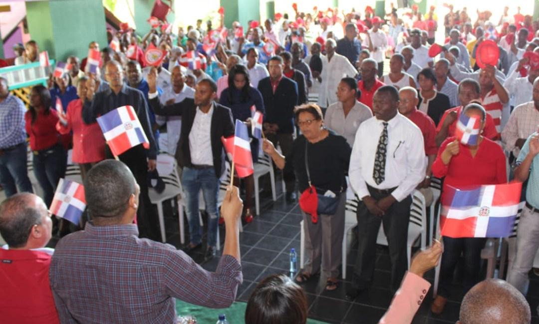 PRSC juramenta 600 coordinadores en provincias de Elías Piña y San Juan