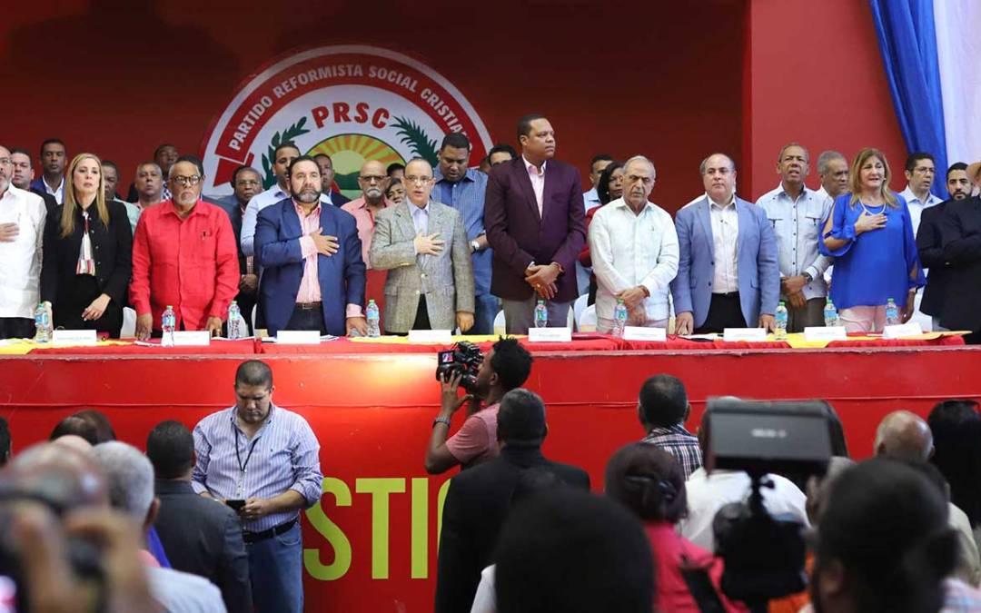 PRSC aprueba modalidades para escoger candidatos de elección popular para las elecciones del 2020