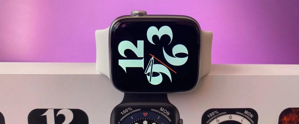 Banner de Smartwatch DT100 con fondo rosa