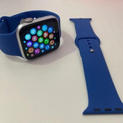 Correas de Silicona Azul