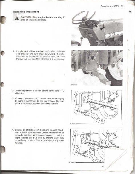 My John Deere 950 Operator's Manual - Poudre River Stables