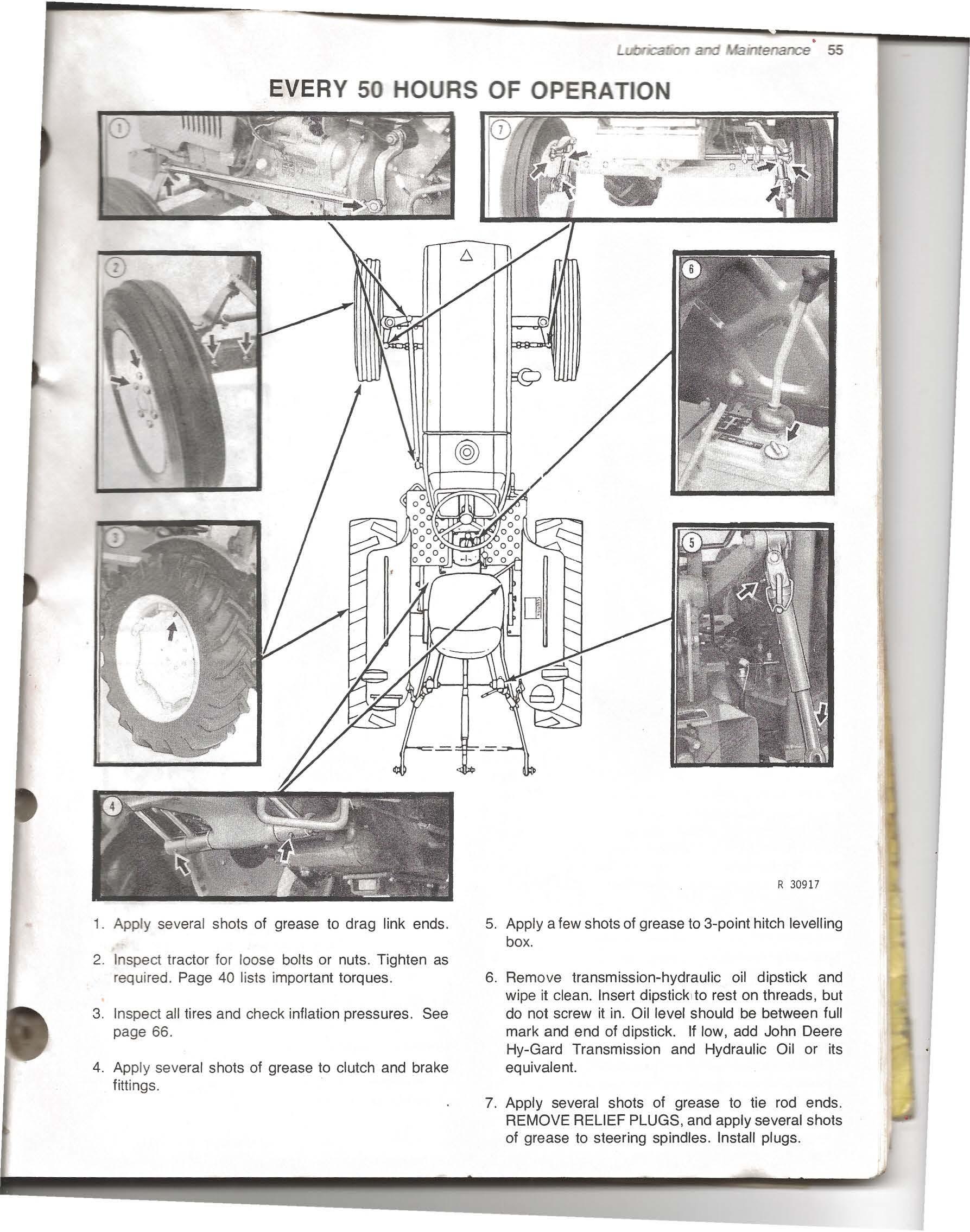 Fancy John Deere 50 Wiring Diagram Gallery - Everything You Need to ...