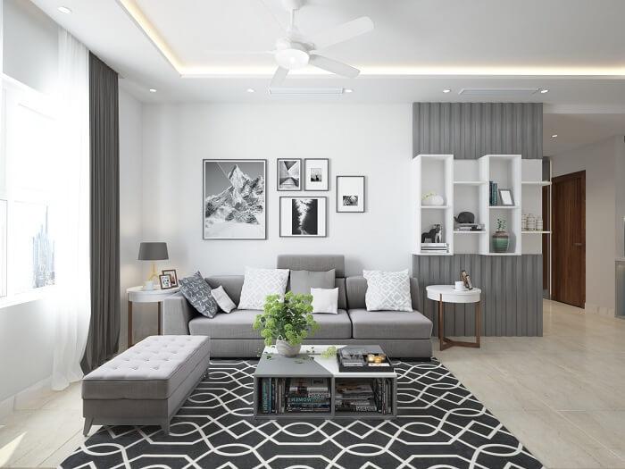 Ý tưởng thiết kế nội thất căn hộ chung cư cao cấp đẹp