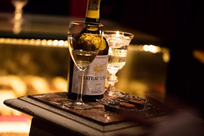 白ワインとよく合うショコラとして有名