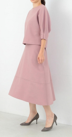対象商品 一例:<Demi-Luxe BEAMS> 圧縮ウール プルオーバー& フレアスカート