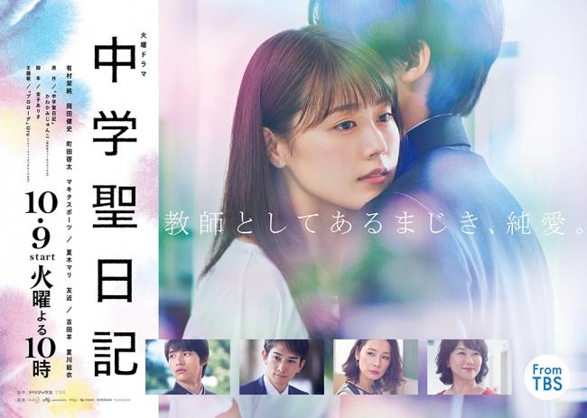 ドラマ「中学聖日記」ポスタービジュアル (C)TBS