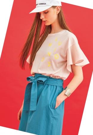 Tシャツ¥17,280 パンツ¥20,520 キャップ¥10,800(全て税込)