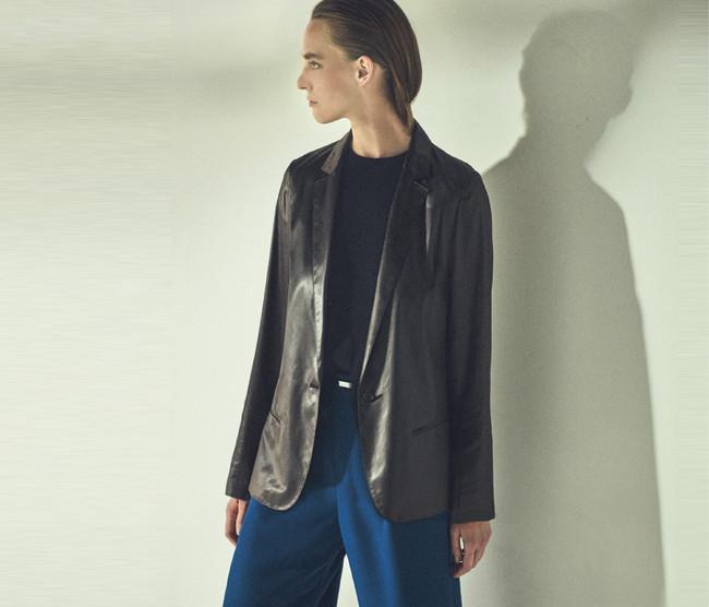 ジャケット 37,400円(税込) カラー:ダークブラウン、 ブラック