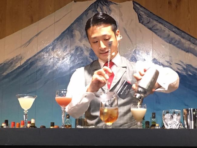 Bar Capri 吉田宏樹 2019年7月4日「ワールドクラス2019ジャパンファイナル」にて