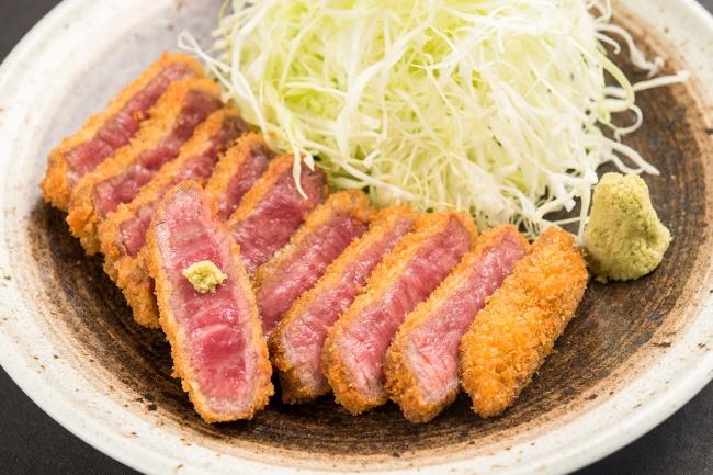 「黒毛和牛 牛カツ膳」:2,480円(+税)