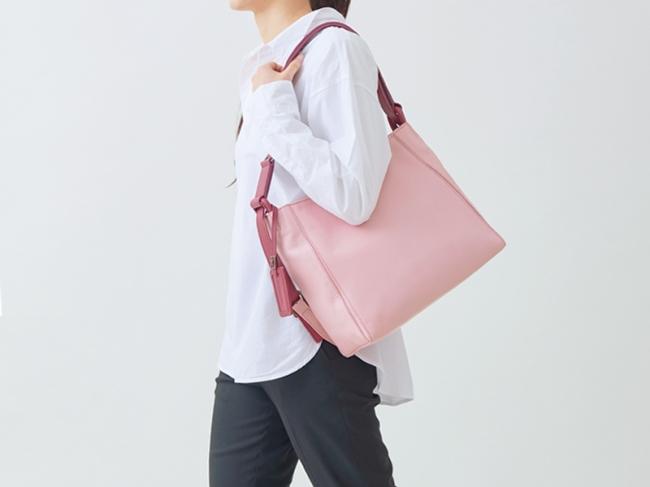 『yozora』ピンク(ワンショルダー使用時)