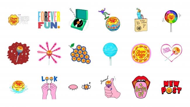 Chupa Chups Original GIF Sticker