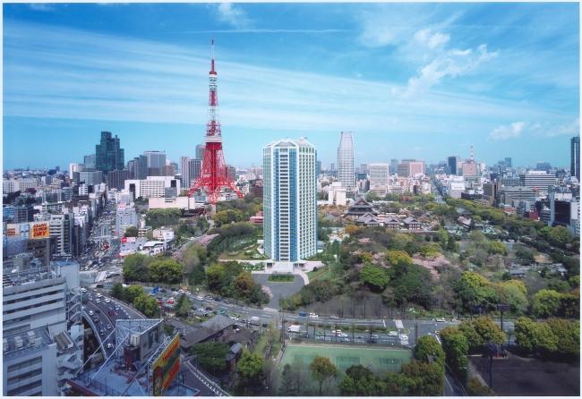 ザ・プリンス パークタワー東京 外観