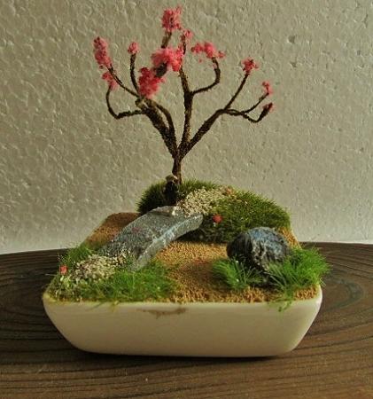 盆ラマ®-陶器の上に作るお庭の風景-