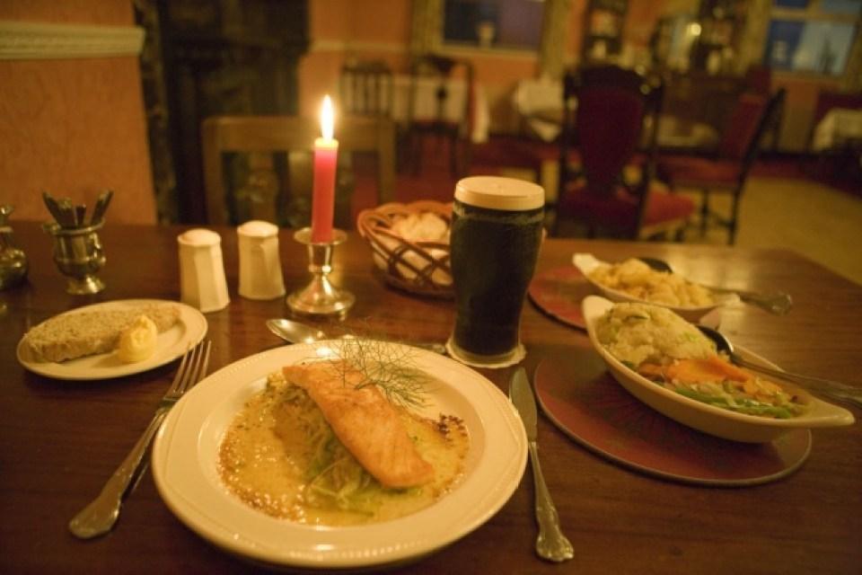 アイルランドの新鮮なシーフードを味わう(イメージ)