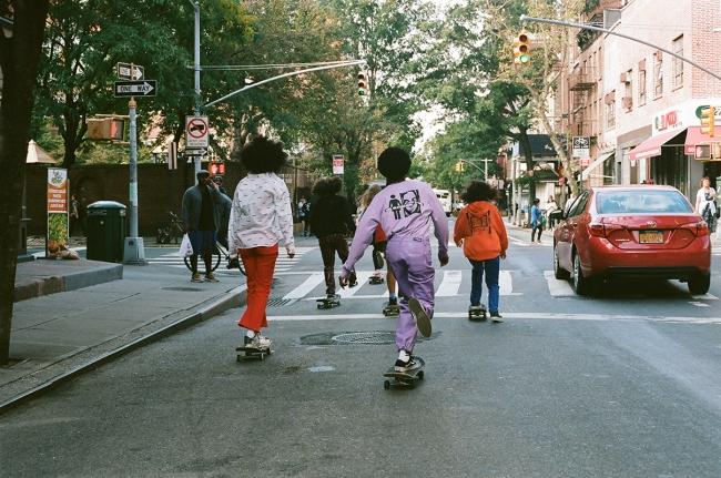 #1 X-girl skateboards
