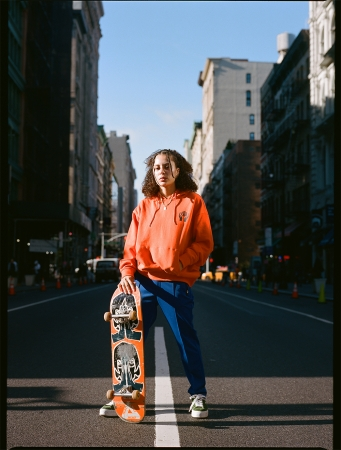 #1 X-girl skateboards