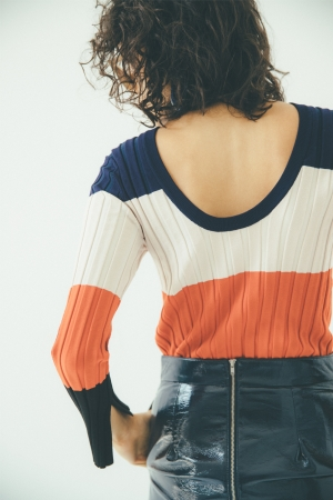 Limited Color Knit tops ¥5,800+tax
