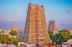 マドゥライにあるミーナークシ寺院