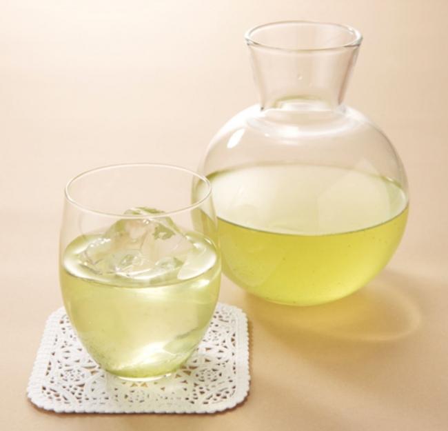 深蒸し茶(冷茶) 500円(+税)