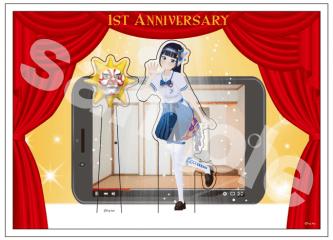 富士葵1stAnniversary記念キャラBOX&アクリルスタンド(キクノジョー付き!)  3,500円(税抜)
