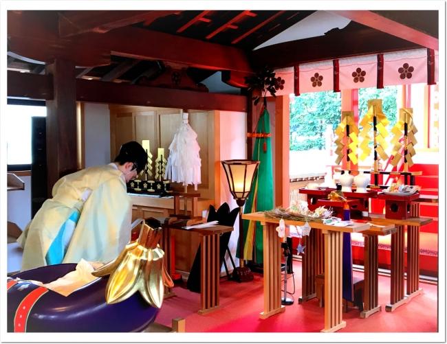 今年も須磨の天神さま 綱敷天満宮 でお焚き上げのご祈祷を行っていただきました。