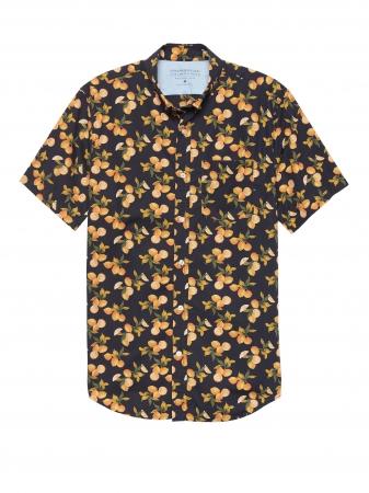 <Mens>レモンプリントシャツ 7,900円(税込)