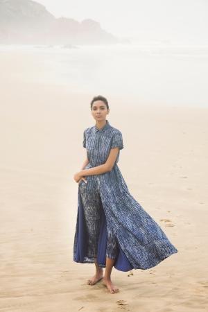 マキシシャツドレス 39,000円