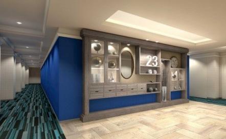 23階エレベーターホール改装後イメージ