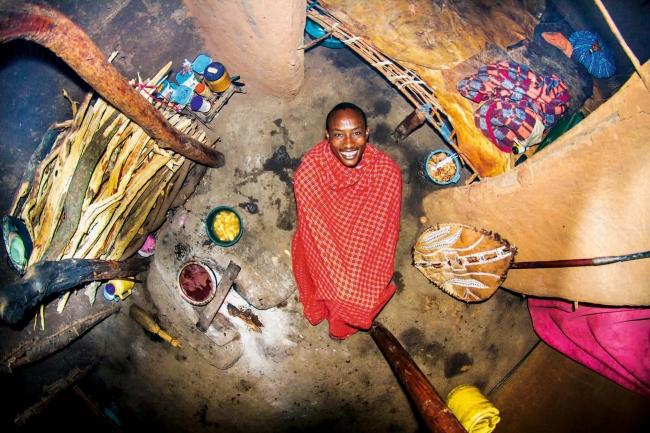 マサイ族の戦士の部屋(ケニア)