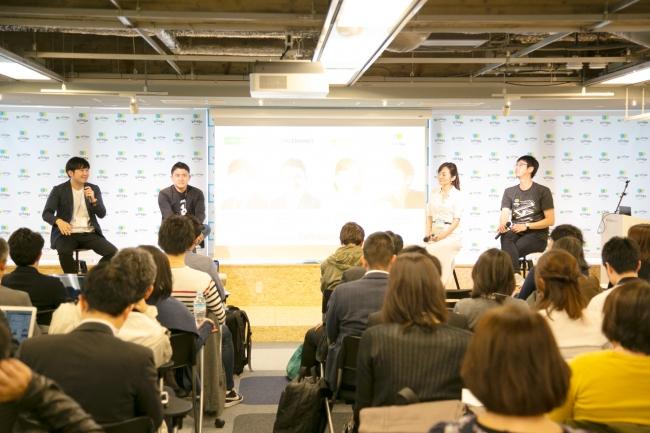昨年4月に行われたbillage OSAKAオープン記念イベントの様子