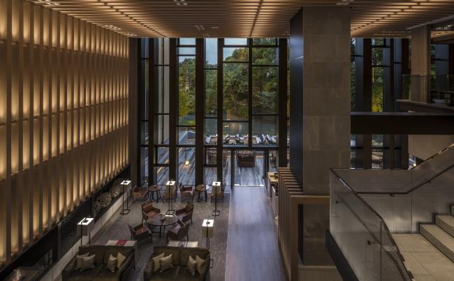 フォーシーズンズホテル京都 メインダイニング、レストラン「ブラッスリー」