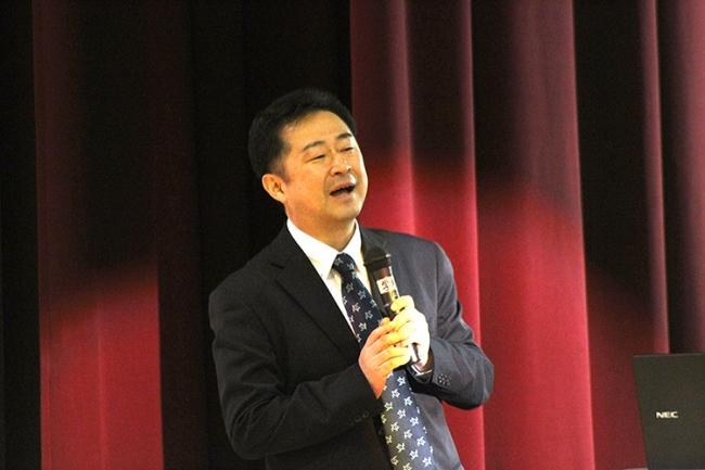 四国水族館初代館長・松沢慶将氏による就任の挨拶