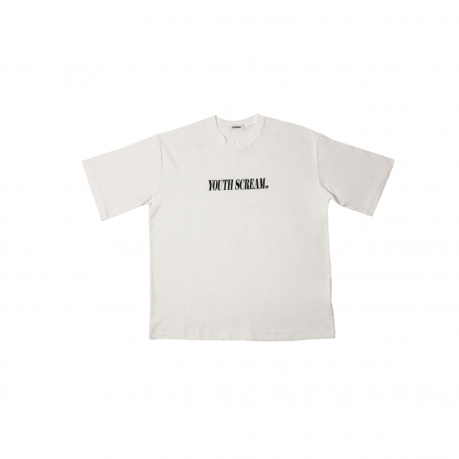 YOUTH SCREAM WHITE T SHIRT 5,800円(税別)