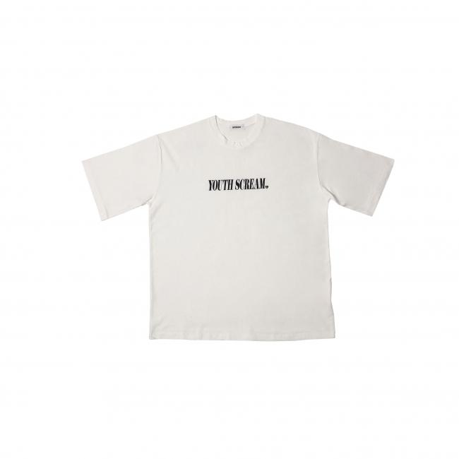 YOUTH SCREAM WHITE T SHIRT 5,800円(税別)