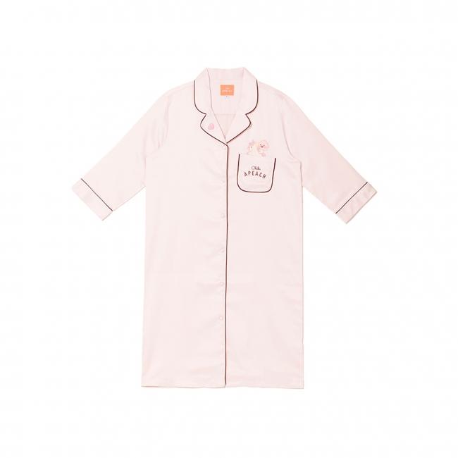 【日本限定】 ちびアピーチルームウェア ワンピース ピンク ¥7,400(税抜)