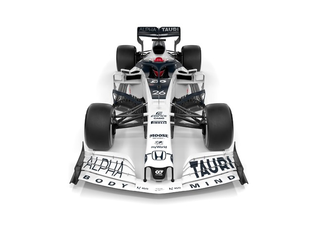 「Scuderia AlphaTauri」のレーシングマシン