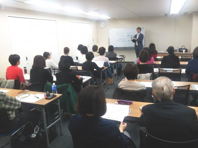 3月8日東京、9日大阪にて保険説明会を開催致しました。
