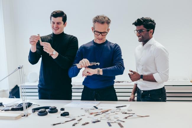 創設者(左からバシリ・ブラント、ヤコブ・ワグナー、パスかー・シバム)