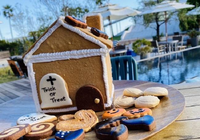 「ハロウィンお菓子の家キット」6,000円(税別)