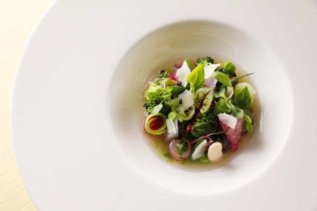 <ピトレスク>季節野菜のピストゥスープ