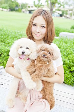 Image result for 愛内里菜 犬