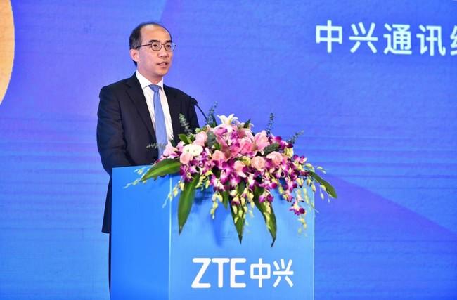 <ZTE社長 徐子陽(XuZiyang)>