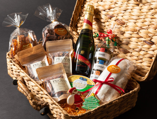 クリスマスハンパーボックス シャンパン付き